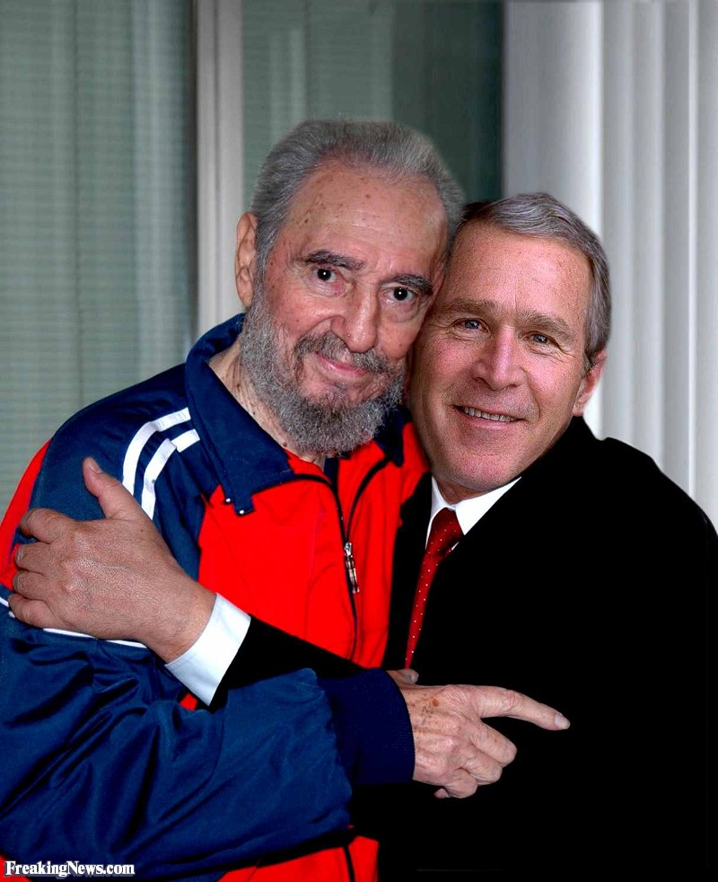 about that photo of ted and fidel castro jim varagona